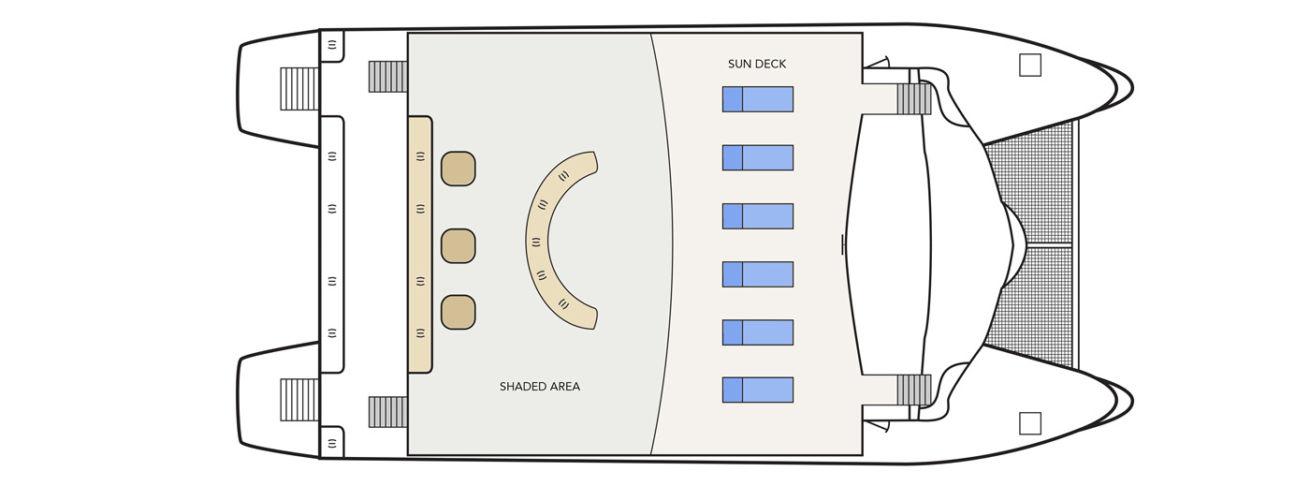 Solaris sun deck plan